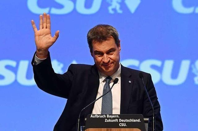 CSU-Chef Markus Söder ist seiner Partei voraus