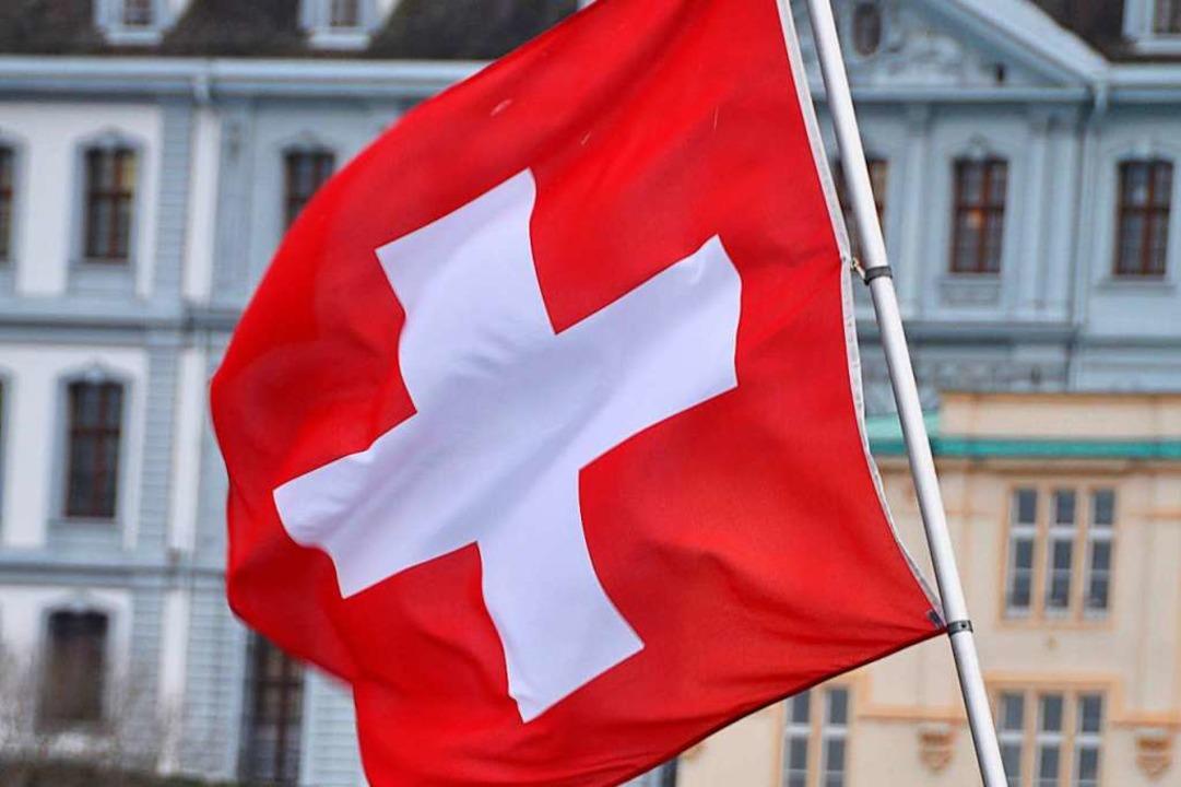 Schweizer Flagge    | Foto: Daniel Gramespacher