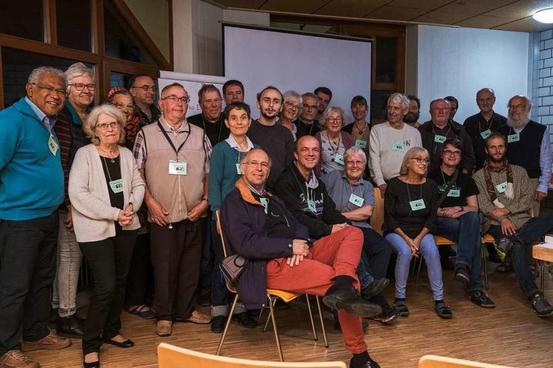 Sie alle eint eine Sprache: Esperanto  | Foto: Ansgar Taschinski