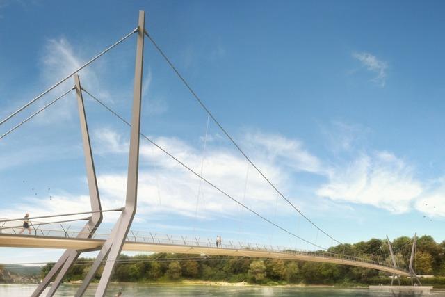 Der Rheinsteg in Rheinfelden wird nicht gebaut