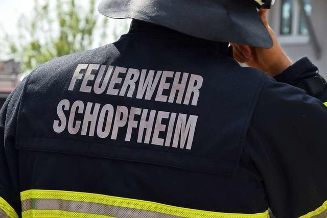 Ausgelaufener Diesel löst Feuerwehreinsatz aus