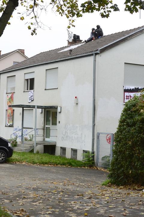 Das Haus an der Fehrenbachallee 52 ist ein ehemaliges Polizeigebäude.  | Foto: Ingo Schneider