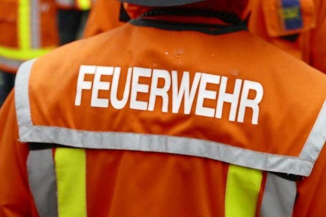 Heißes Fett gerät in Freiburg-Landwasser am Sonntagabend in Brand