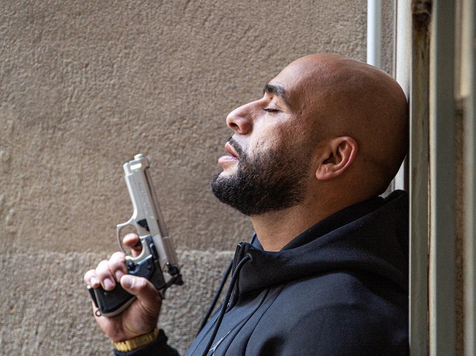 "Veysel Gelin als Abbas Hamady in der TNT-Serie ""4 Blocks""  | Foto: Julian Baumann"