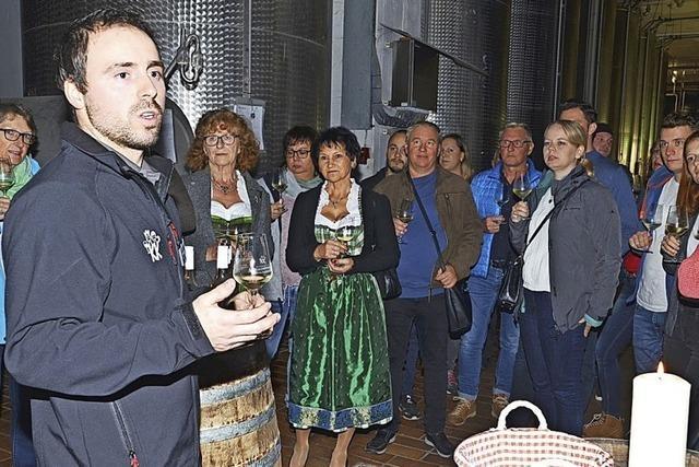 Weinproben, Musik und Gaumenfreuden