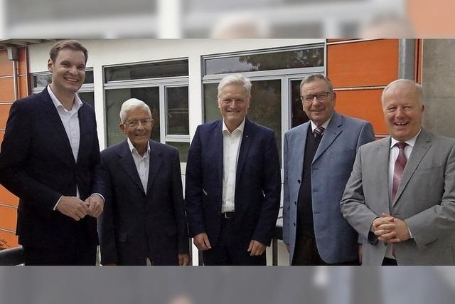 Die CDU ehrt langjährige Mitglieder