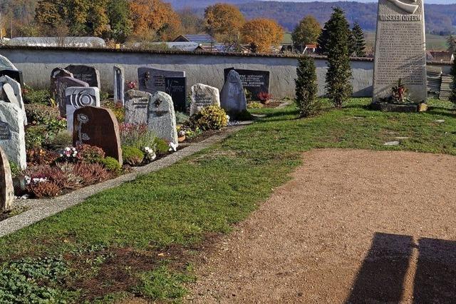 Mehr Grün auf dem Friedhof