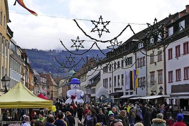 Vierer-Paket zum Winterstart in Waldkirch: Museum, Brettle, Wintermarkt und offene Läden