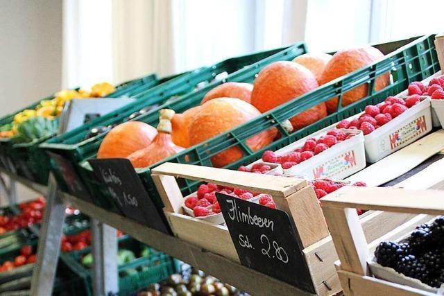 Meiers Obst- und Gemüsehof in Bötzingen bietet Regionales und ein Café