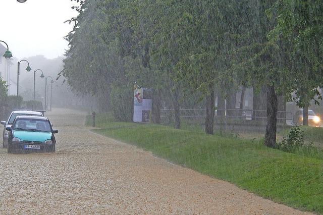 Genug Schutz vor Starkregen?