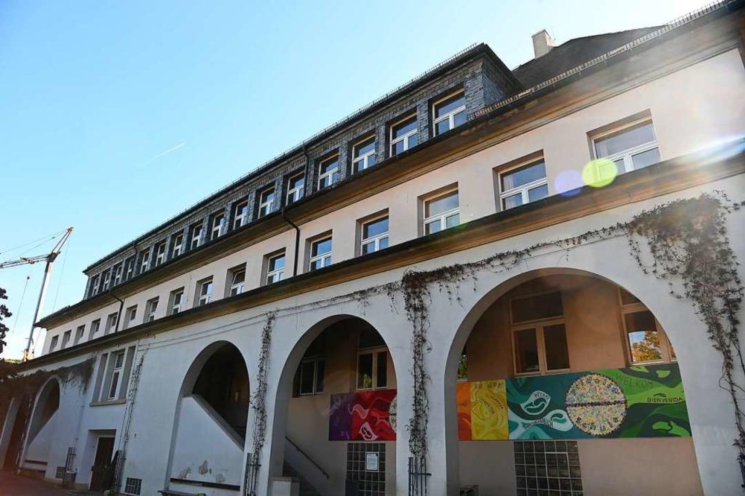 Die Fridolinschule bleibt teilweise geschlossen.  | Foto: Jonas Hirt