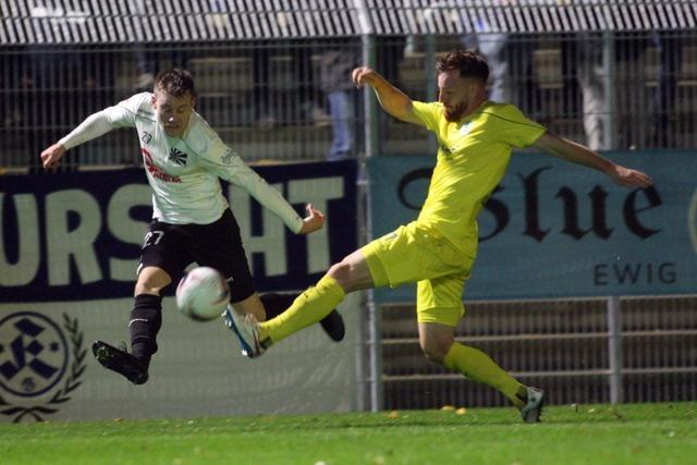 Auch die Stuttgarter Kickers können den FC 08 Villingen nicht stoppen