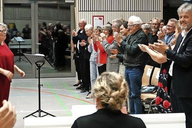 Ovationen für die Dirigentin