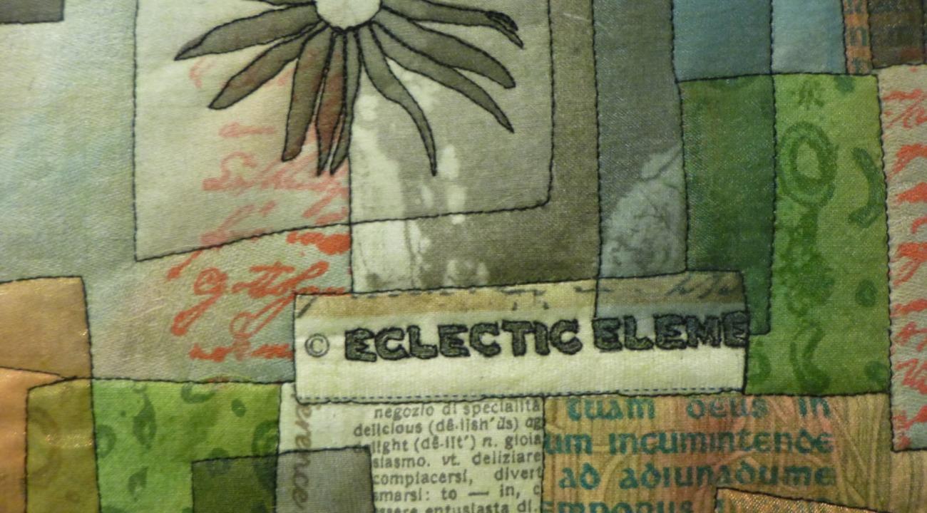 Stoffe, Papier und andere Materialien ...itet Monika Schiwy-Jessen zu Bildern.   | Foto: Anne-Kristin Freyer
