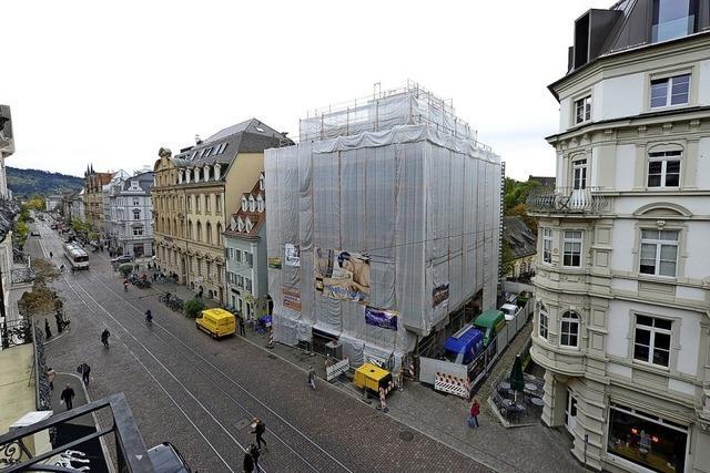 Radio-Bastian-Haus am Freiburger Martinstor wird runderneuert