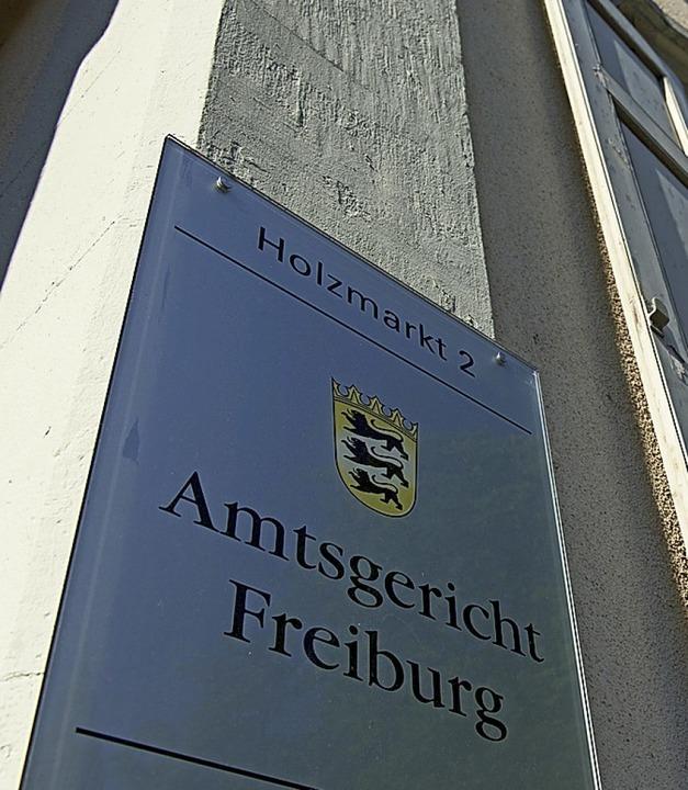 Der Fall wird am Amtsgericht Freiburg verhandelt.  | Foto: Patrick Seeger