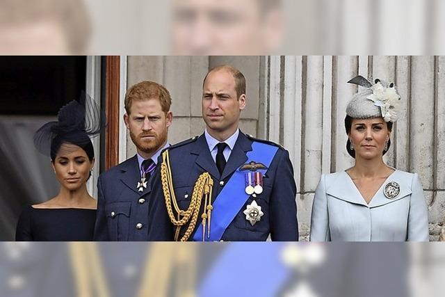 Harry und William gehen getrennte Wege