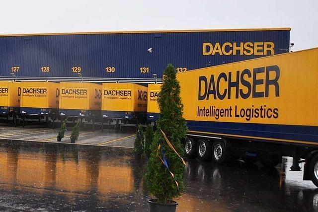 Dachser eröffnet Logistikzentrum im Gewerbepark Breisgau