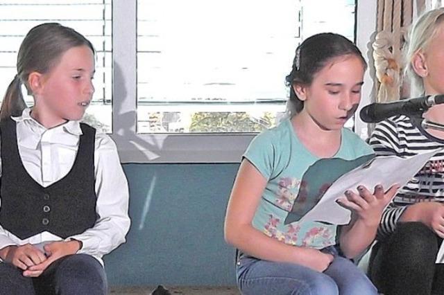 Kinder lehren den Erwachsenen Weisheiten
