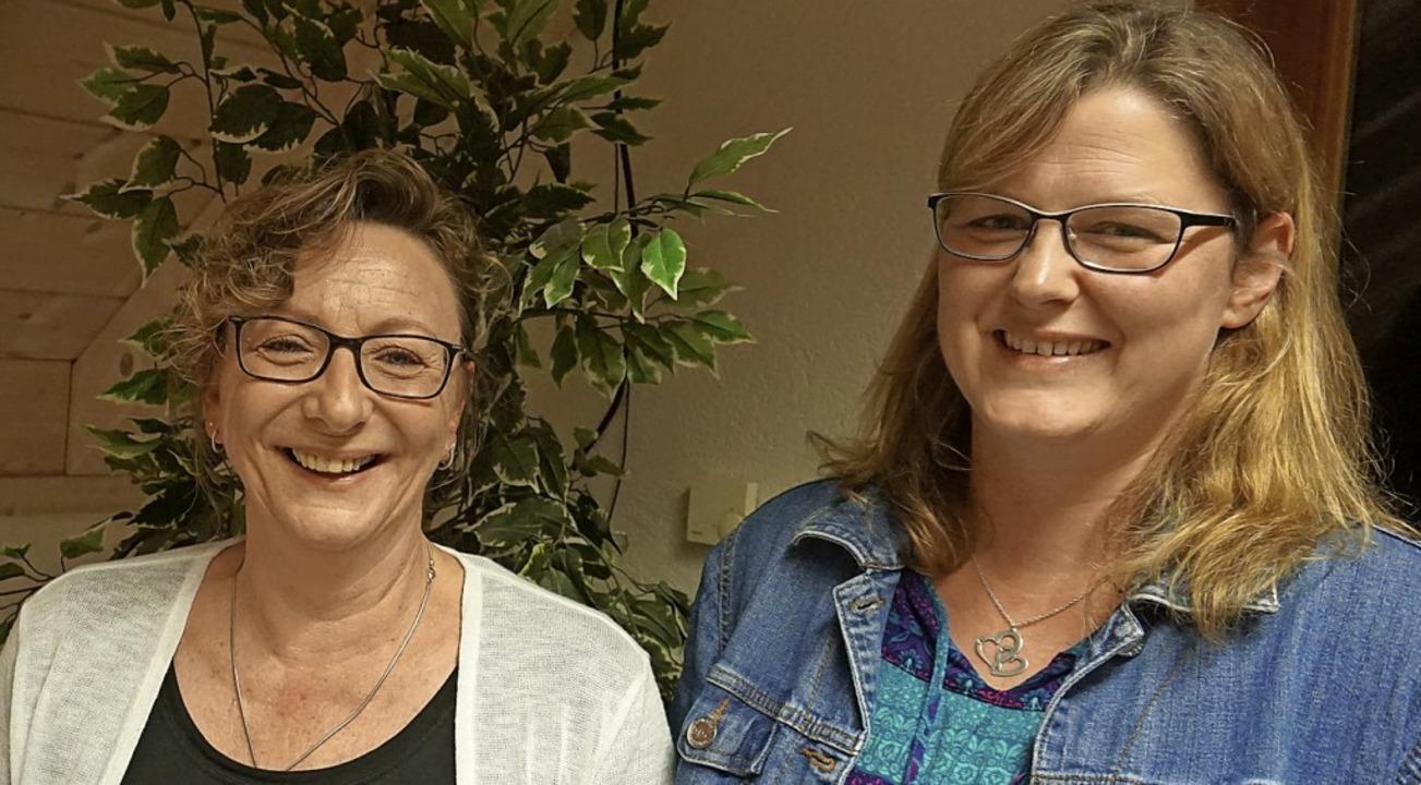 Für 22 Jahre Mitgliedschaft bei den To...n Tanja Zimmermann geehrt (von links).  | Foto: Hans-Jürgen Sackmann