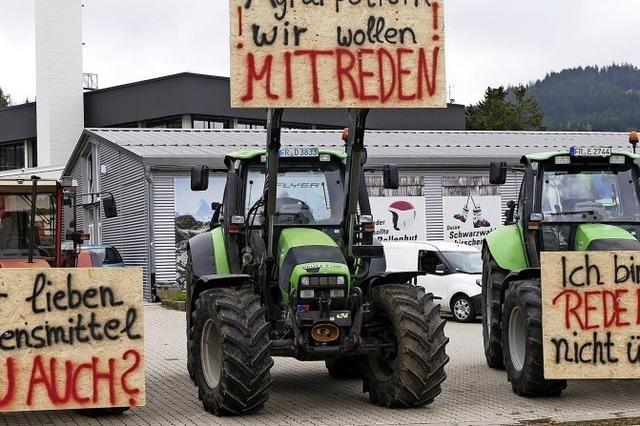 Bauern starten Unterschriftenaktion