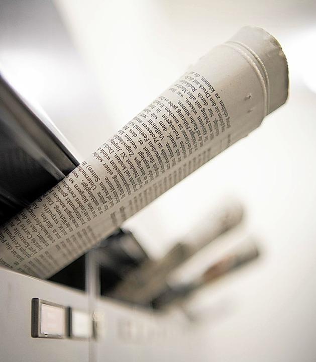 Zeitung – als Medium geschätzt  | Foto: Soeren Stache (dpa)