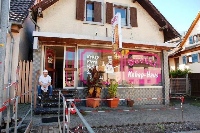 Besitzer des Dönerladens in Reichenbach fürchtet um seine Existenz