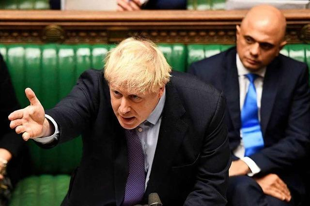 Boris Johnson legt sein Brexit-Gesetz nach Niederlage auf Eis