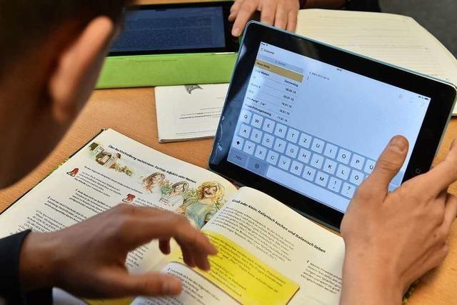 Digitale Modernisierung der Schulen ist gesichert
