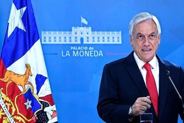 Unruhen in Chile: Präsident Piñera lenkt ein und verspricht Reformen