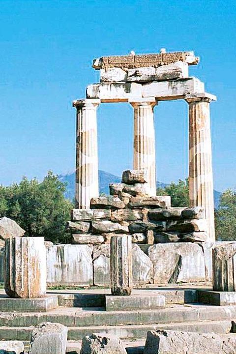 Athena-Tempel in Delphi  | Foto: mundo Reisen GmbH & Co. KG