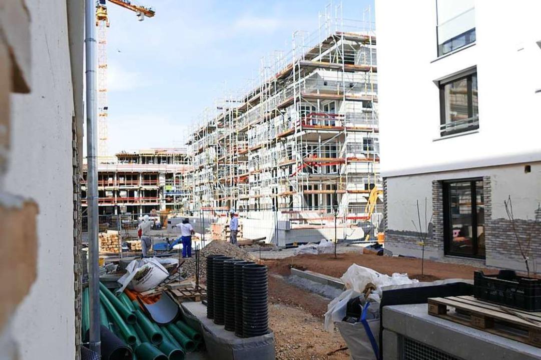 Die Bauplatzvergabe wird in Bad Krozin... Kurgarten II sind davon ausgenommen.   | Foto: Frank Schoch