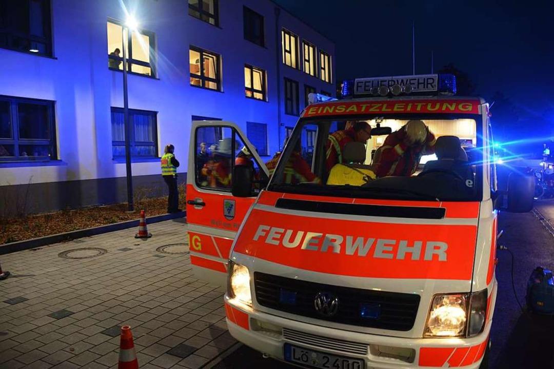 Feuerwehreinsatz im Pflegeheim Markgräflerland  | Foto: Hannes Lauber