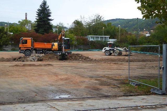 Der Füssler-Parkplatz für Pendler in Lörrach soll am 11. November öffnen