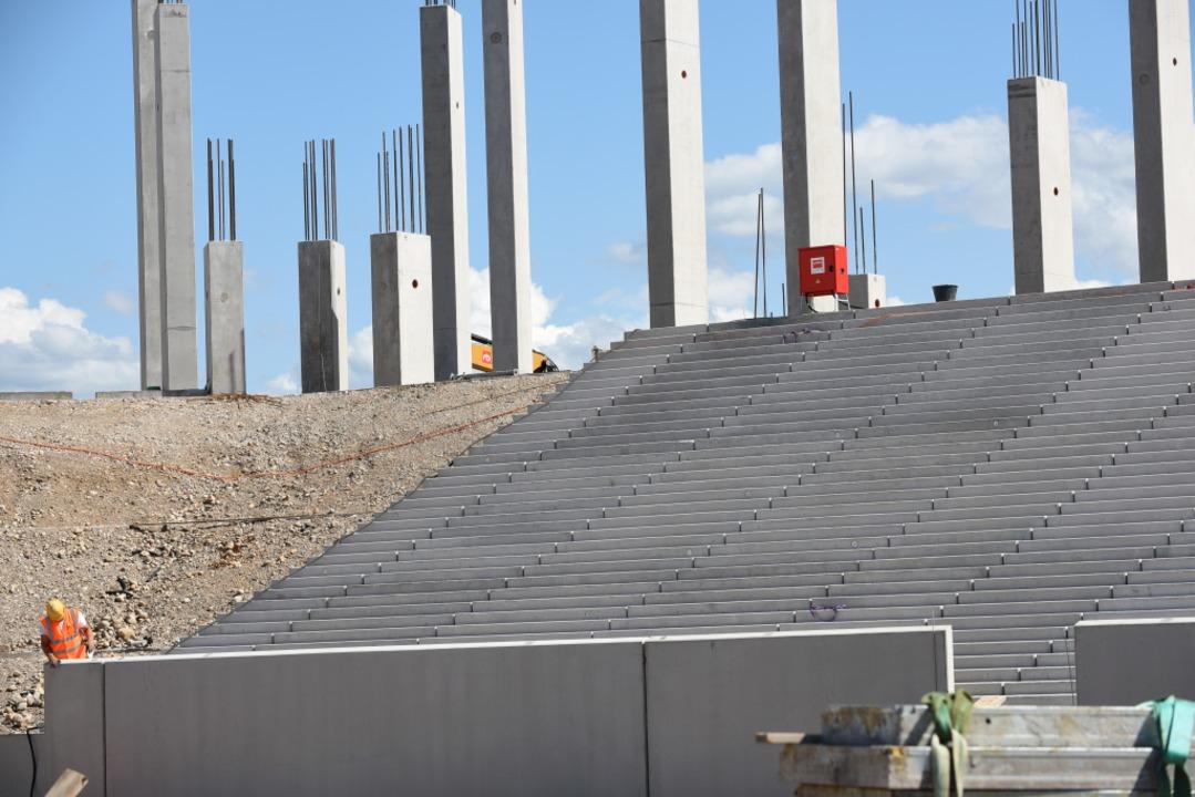 Die Baustelle im August 2019.  | Foto: Rita Eggstein