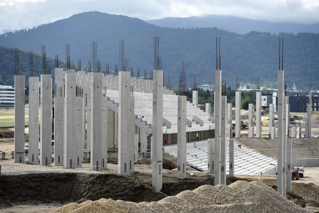 Die Baustelle im August 2019.  | Foto: Thomas Kunz