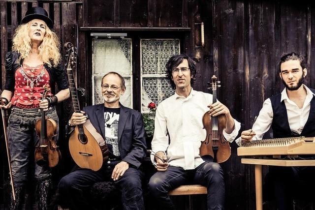 Christine Lauterburg und ihre Landstreichmusik gastieren in der Kultschüür in Laufenburg/Schweiz