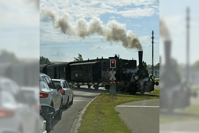 50 Jahre nach dem ersten Museumszug verkehren Zugpaare auf der Kandertalstrecke zwischen Haltingen und Kandern