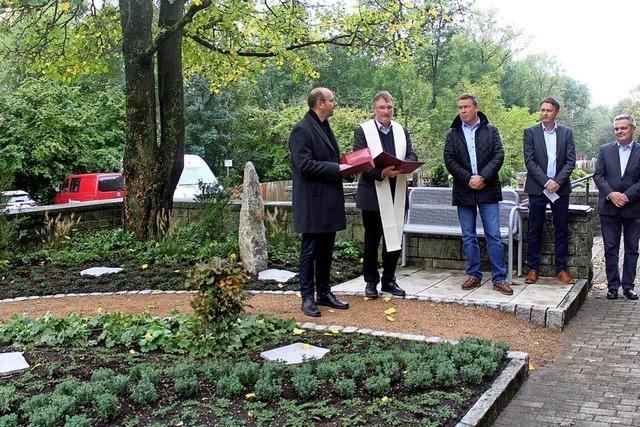 Neue Anlage bietet Platz für Urnengräber