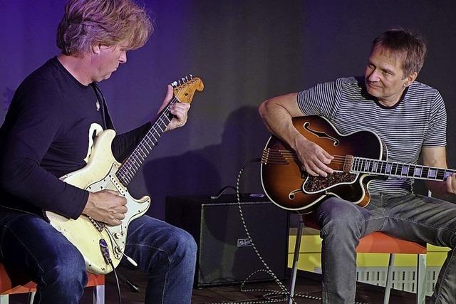Jazz und Rock in einem spannenden Duo-Projekt