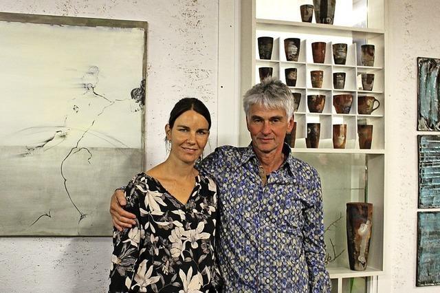 Keramik und Malerei