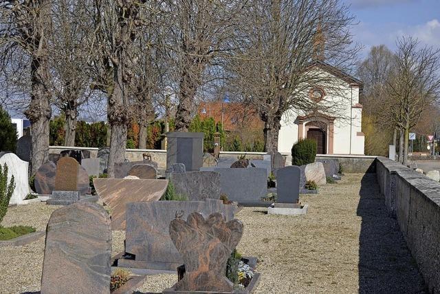 Geld für Friedhof Feldkirch