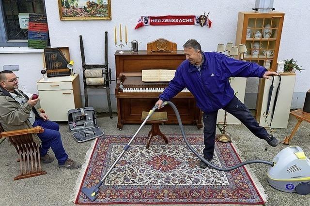 Die Stadtmission verkauft drei Mal pro Woche Secondhand-Möbel