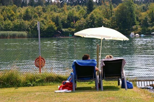 Der Landtag lehnt eine Petition zum Baden im Rhein bei Schwörstadt ab