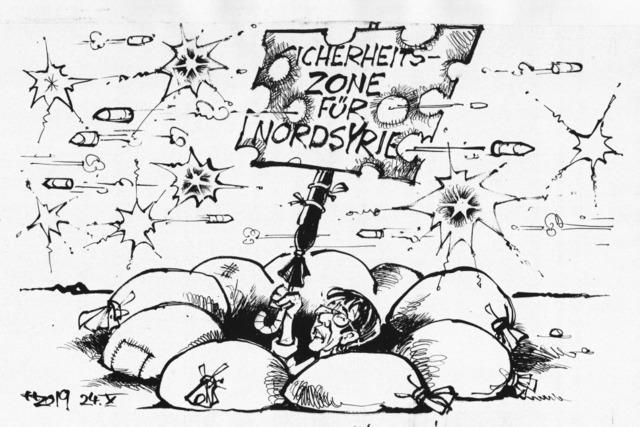 Annegret in der Unsicherheitszone