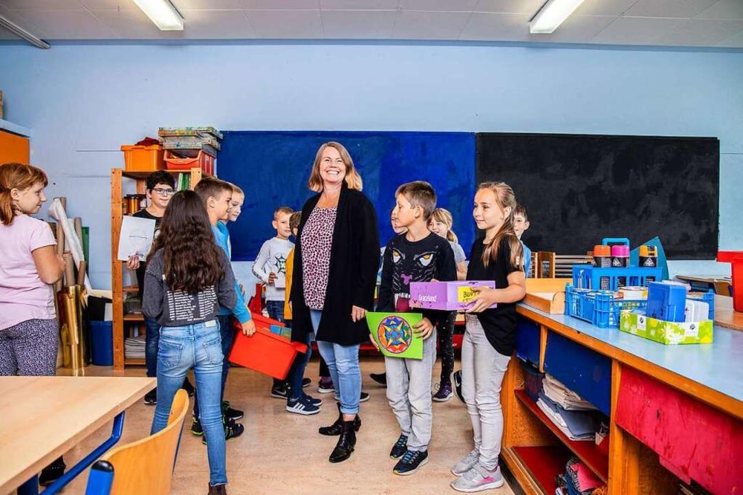 """Wir wollen unseren Schülern in ...he streuen"", sagt Mira Bödeker.     Foto: Joss Andres"