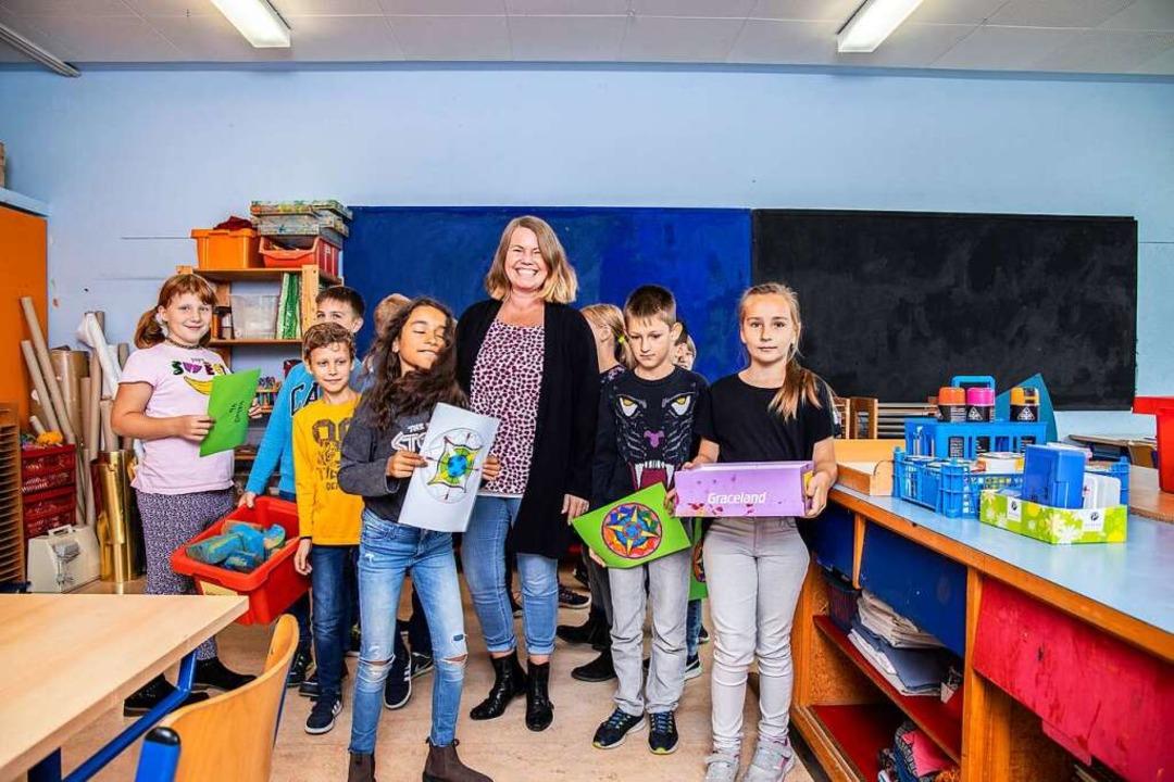 """Mira Bödeker: """"Die Kinder sollen..., um sie darin zu unterstützen.""""    Foto: Joss Andres"""