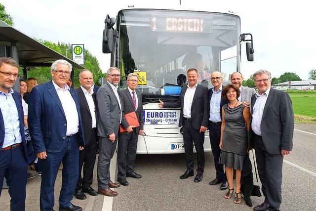 Zwischen Lahr und Erstein wird es eine neue Busverbindung geben