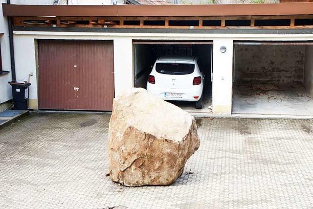 Felssturz-Gefahr: Häuser dürfen 6 Wochen lang nicht betreten werden