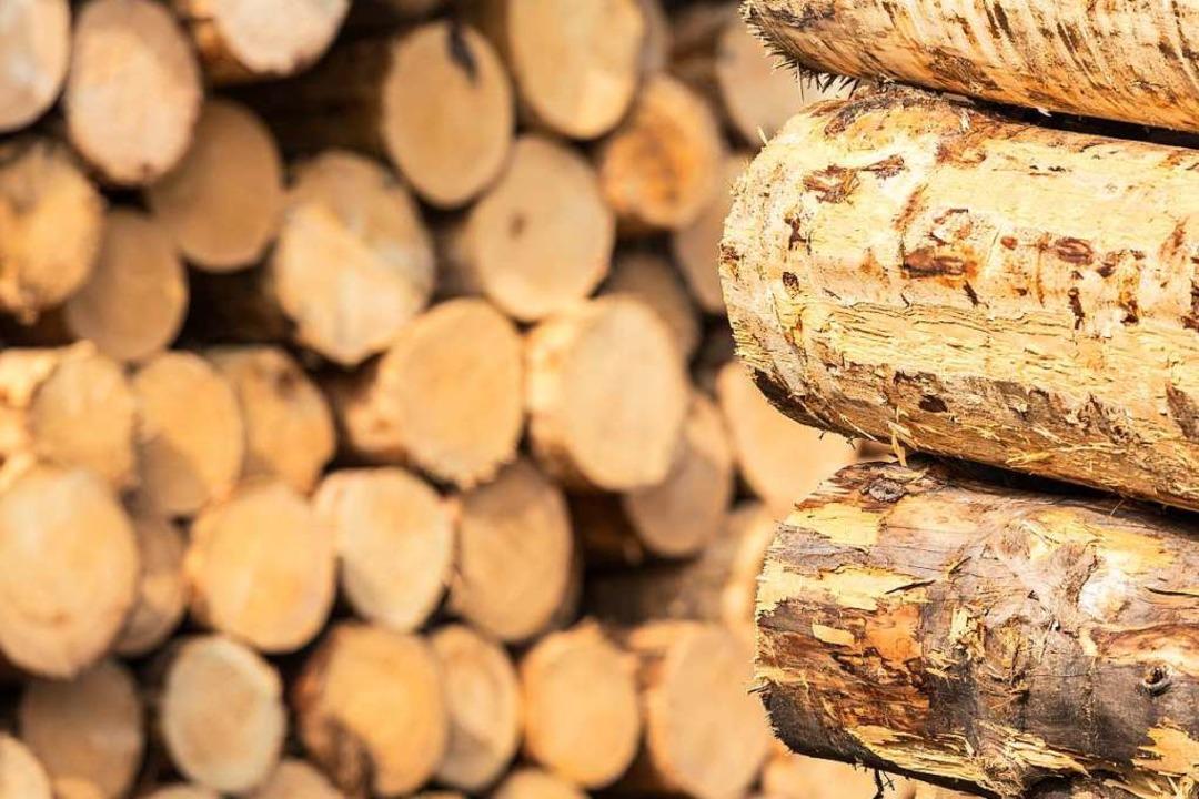 Wer Wohnhäuser aus Holz baut, kann ab ... Baurechtsamt beantragen (Symbolbild).    Foto: Carlotta Huber
